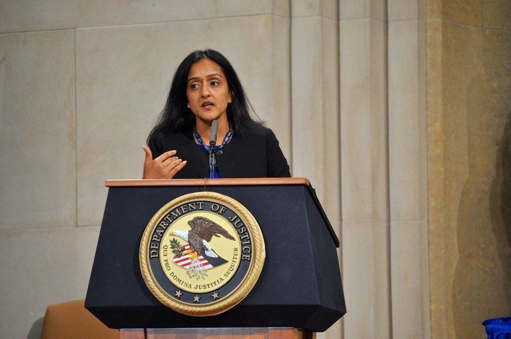 Principal Deputy Assistant Attorney General Vanita Gupta