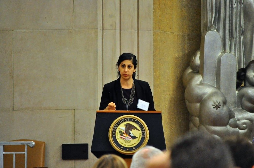 ATJ Deputy Director Maha Jweied wraps up the Right to Counsel National Consortium Second Annual Meeting