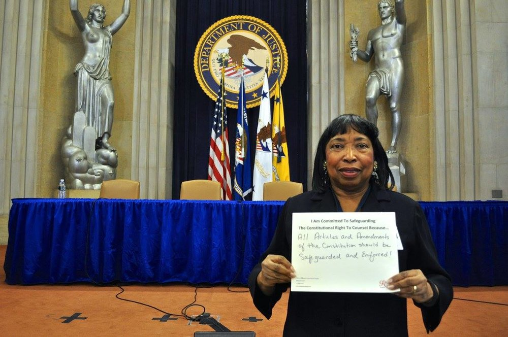 Judge Bernice Donald #WhyImCommitted #SafeguardingRightToCounsel