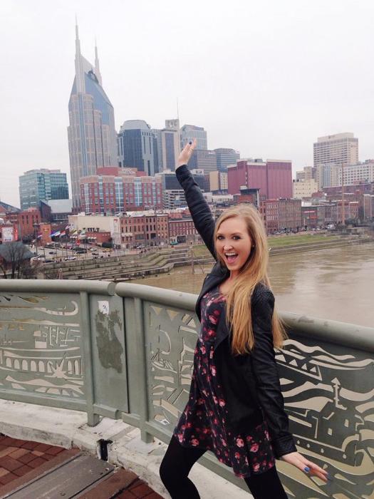 The Walking Bridge in Nashville Tennessee