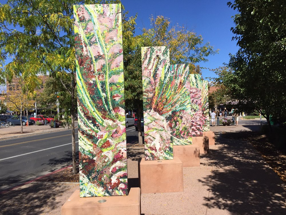 "Fort Collins; Artist: L.C.R., 2013 ""Sustainable Gardens,"" sponsored by: Downtown Development Authority"