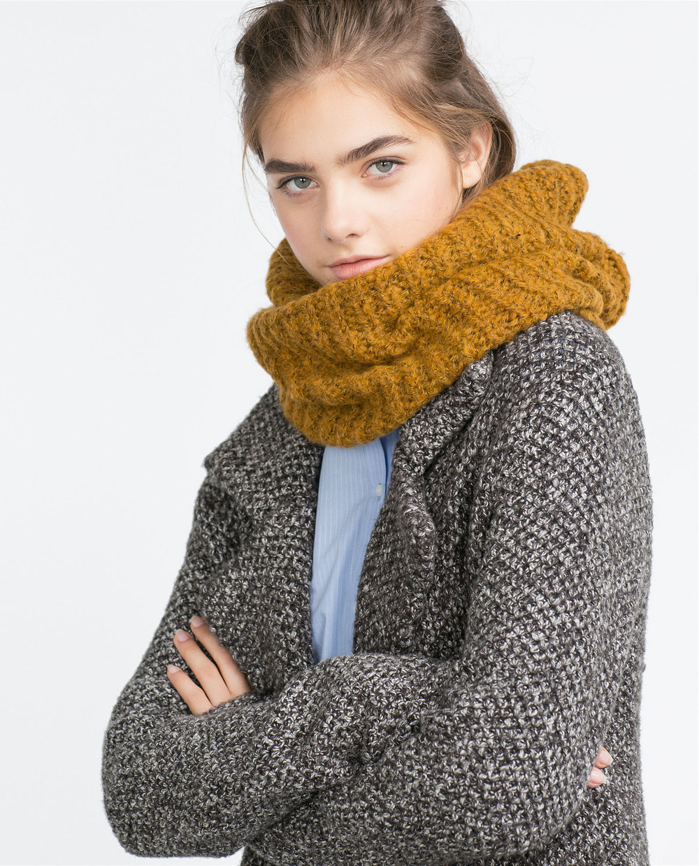 Zara Basic Knit Snood, $12.90