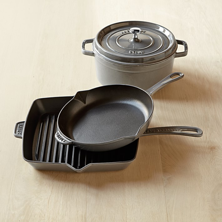 Staub Cast Iron 4-Piece Cookware Set, $499.95
