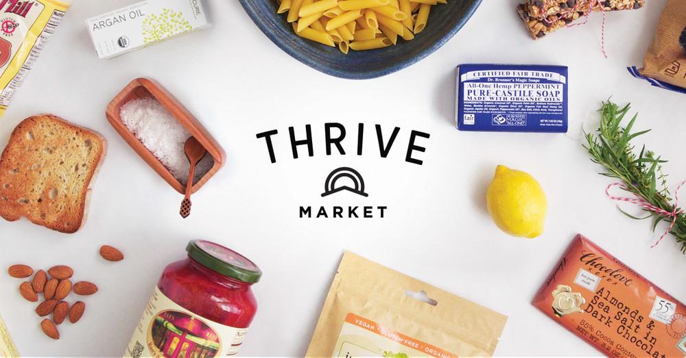 Thrive Market Membership, $59.95