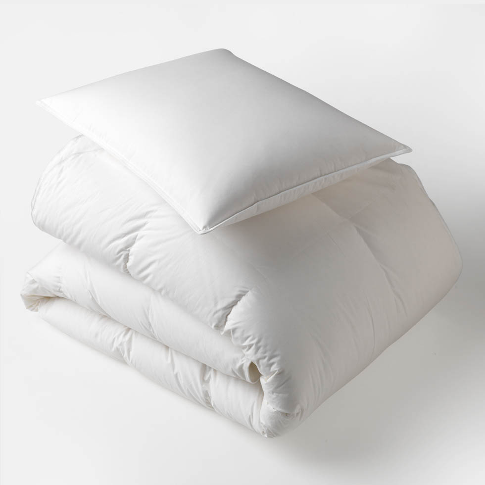 Unison 100% Premium Down Bedding Fills, $180-290