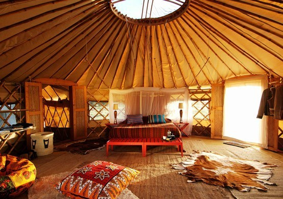 Stay Overnight in a Yurt