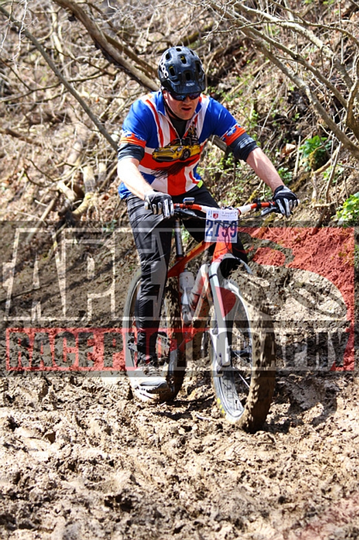 2016 Paris to Ancaster race - enjoying the MUD section !!!