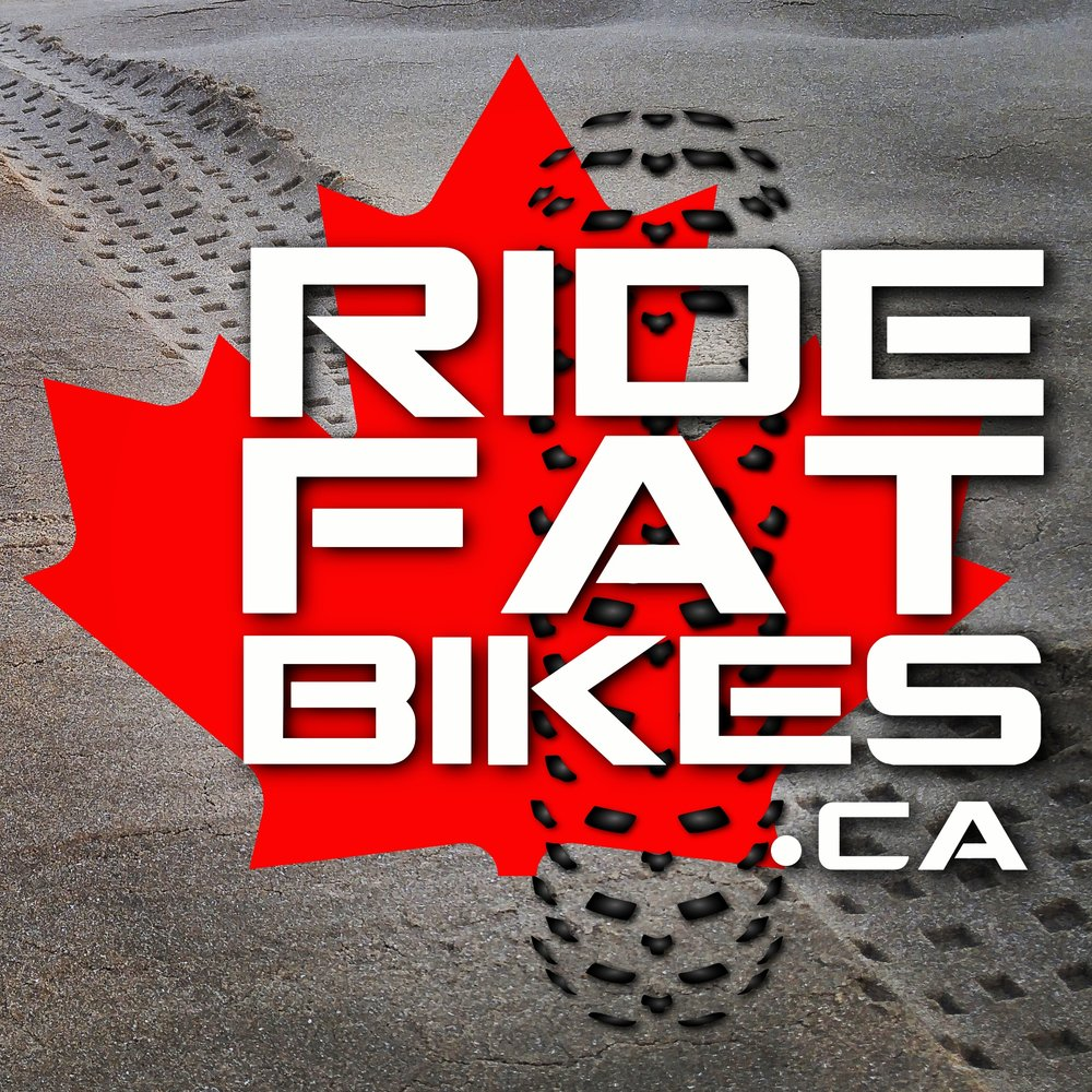 RIdeFATbikes.ca Logo - custom built Fat Bikes in Canada