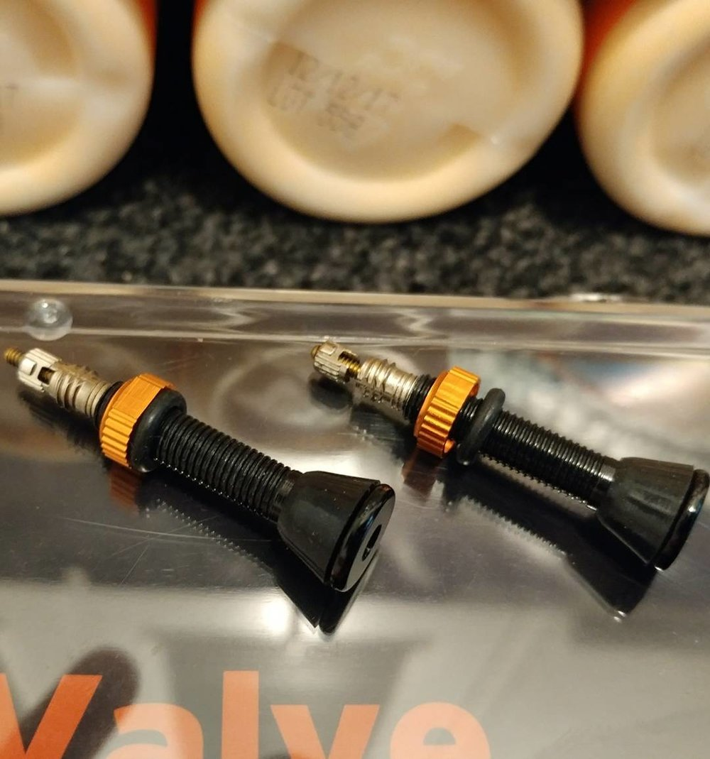 ORANGE SEAL TUBELESS-READY VALVE STEMS