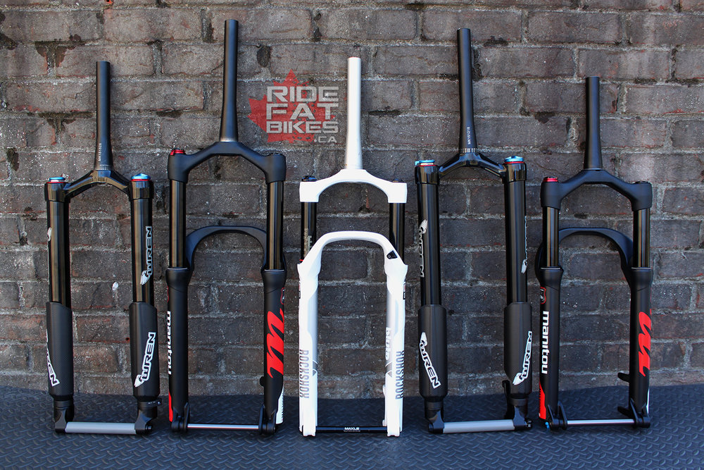 WHICH SUSPENSION FORK SHOULD YOU CHOOSE FOR YOUR FAT BIKE ?