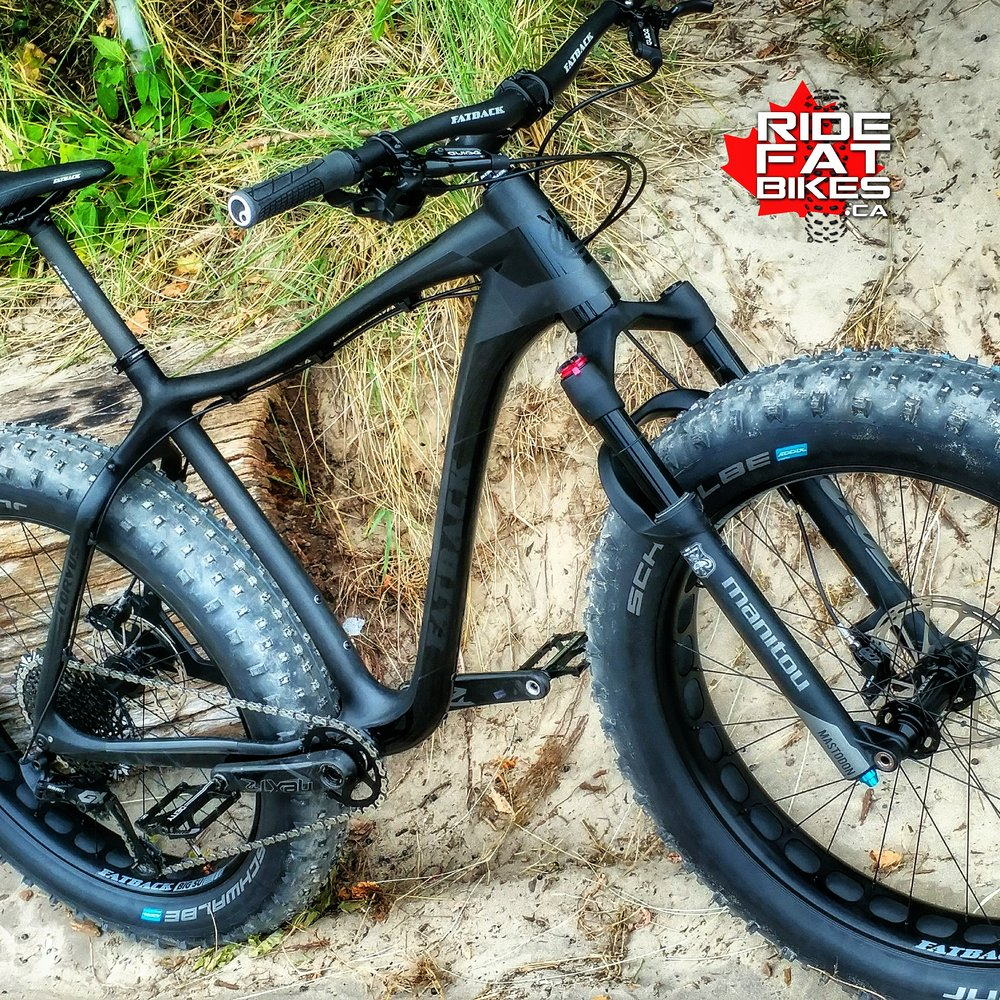FATBACK CORVUS FLT STEALTH GX EAGLE 12 spd - RIDEFATBIKES.ca - Custom Built FAT BIKES in CANADA