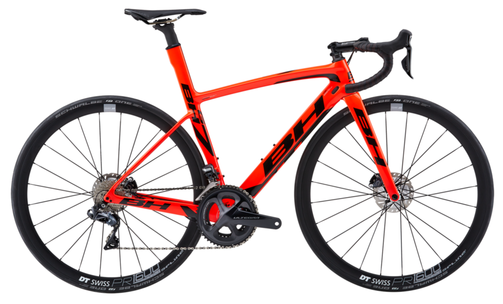 The 2018 G7 shown in Glossy Coral with Ultegra 8000 DI2, w/Flat Mount 140mm Disc Brakes