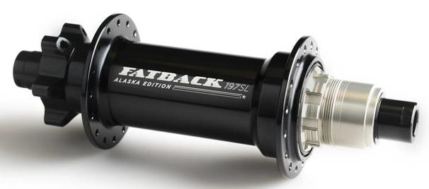 Fatback Bikes - 2019 Alaska Edition Hub - side profile