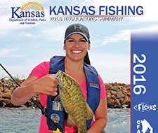 Click the image to download the 2016 Kansas Fishing Regulations