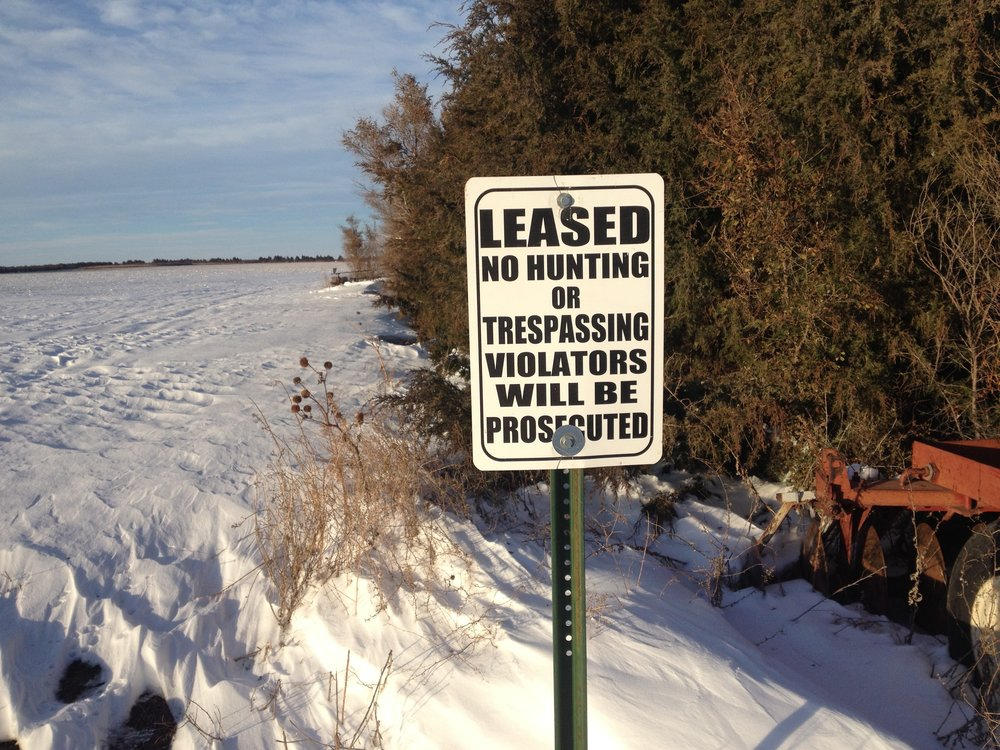 """Some states require landowners to post their property with signs to prevent hunters being able to access the property without permission. There are no requirements in Colorado for landowners to post their property with """"No Hunting"""" signs, although most do to reiterate the point. Trespassing in Colorado means being on private property without permission, regardless of the presence of signage."""