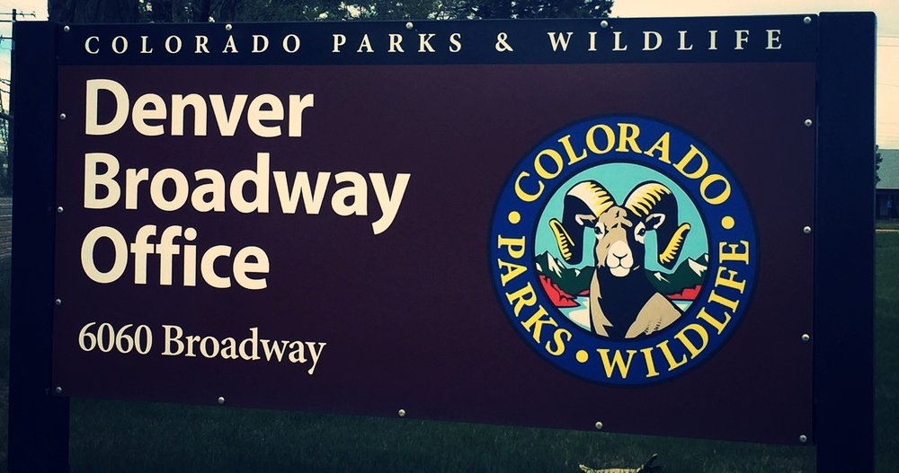 Many hearings for the Colorado Parks and Wildlife Commission take place at the Denver Broadway Office, just across the street from the office of Nathaniel Gilbert, hunting and fishing attorney.