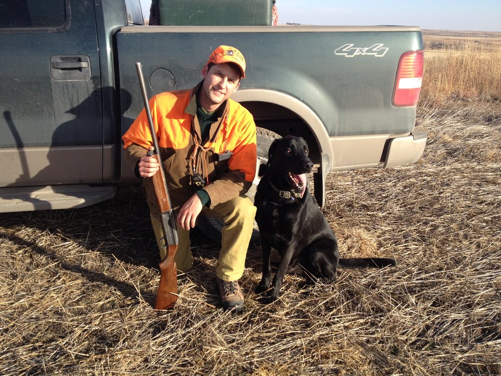 Hunting Violation Lawyer Nathaniel Gilbert on a pheasant hunt in 2015.  Nathaniel has devoted a large portion of his practice to defending and fighting for hunters and the rights of sportsmen and women.  Having been raised hunting and fishing with a solid foundation of love for the outdoors, working with hunters, outfitters, and guides is both a privilege and an honor.  If you have been charged with Colorado Hunting Violations or Kansas Hunting Violations, contact Hunting Attorney Nathaniel Gilbert to review your case and talk about the options you may have.