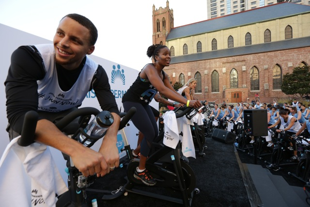 KAISER PERMANENTE x FLY WHEEL WITH STEPH CURRY & CHRIS PAUL
