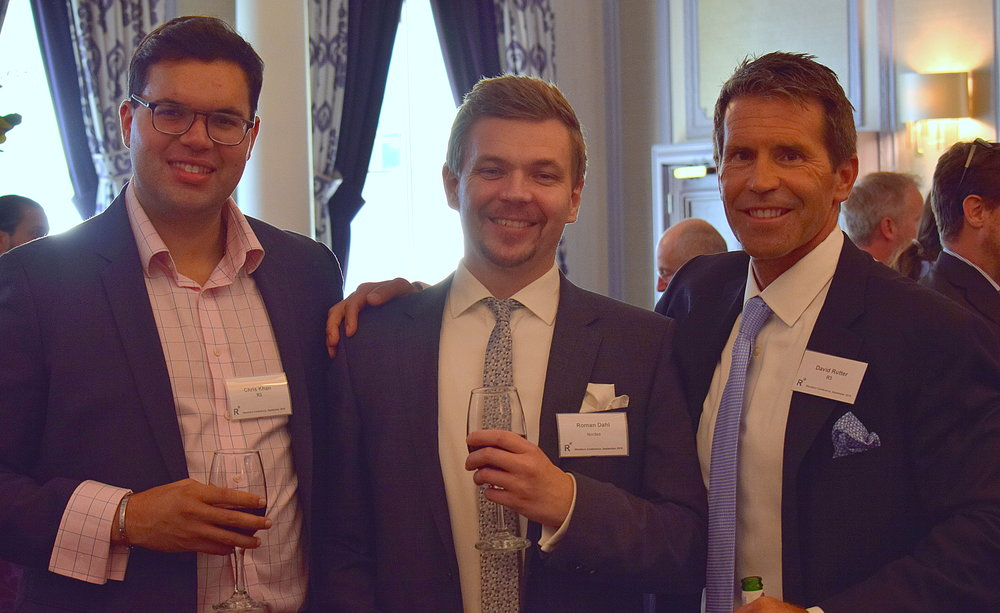 Chris Khan (R3), Roman Dahl (Nordea), David Rutter (R3) at our recent European Members' Conference