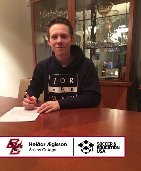 Heidar Aegisson - Boston College