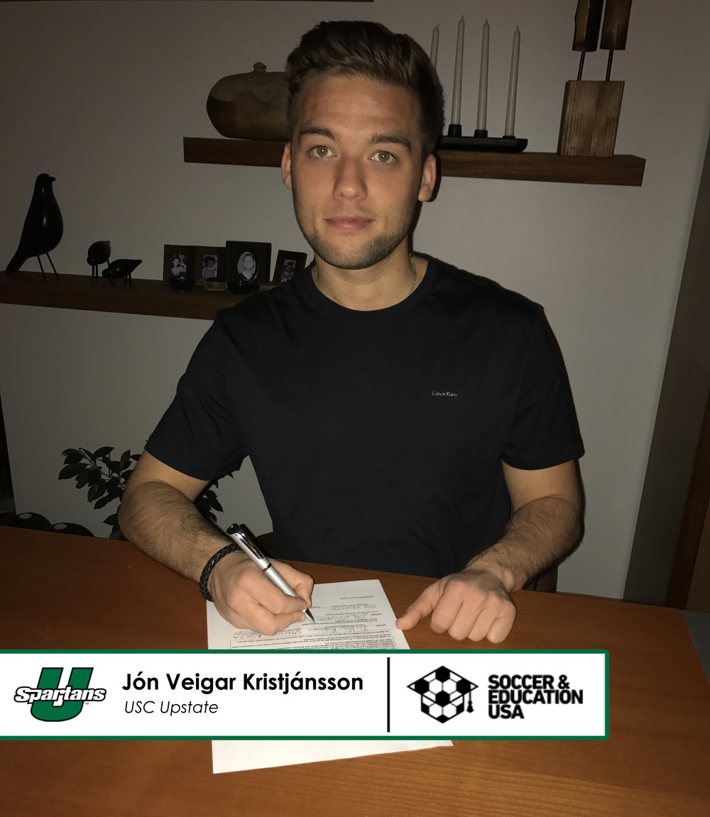 Jon Veigar Kristjansson - USC Upstate