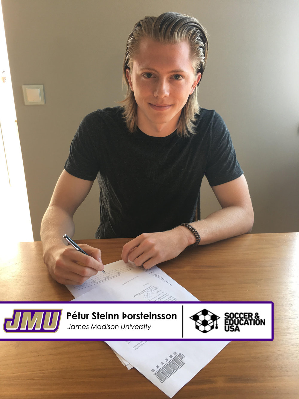 Petur Steinn - JMU