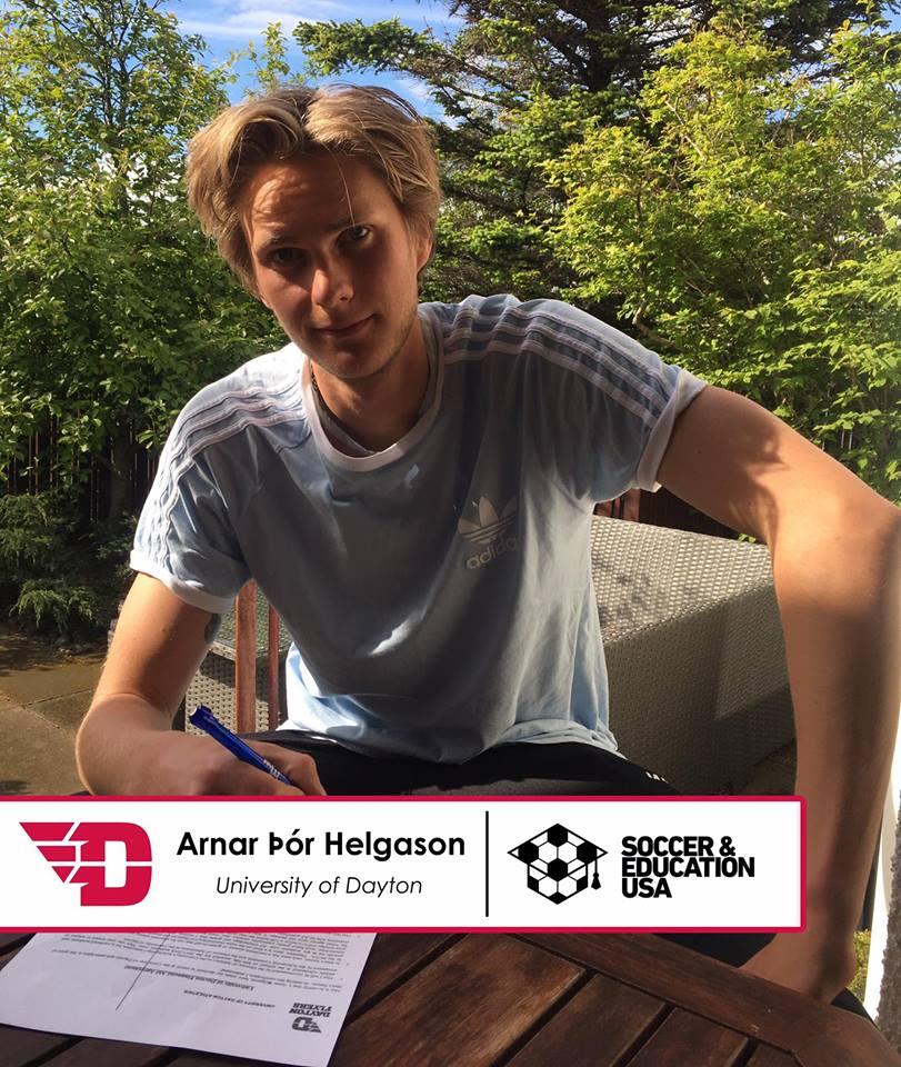 Arnar Helgason - University of Dayton