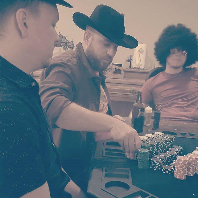 Poker night.