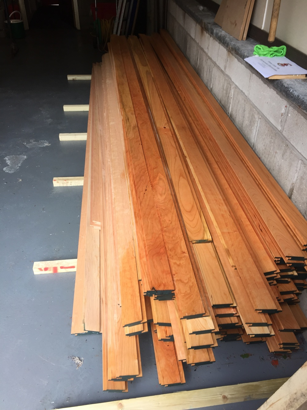 Fire retardant timber