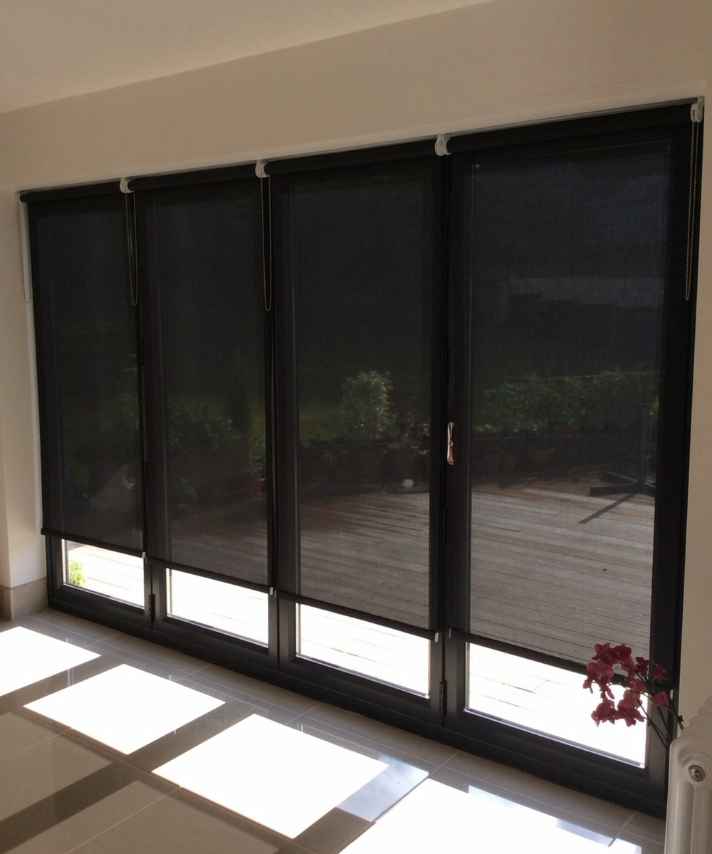 window blinds made fire resistant to BS.5867