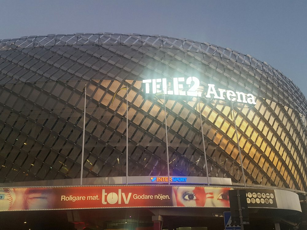 the Tele 2 Arena and the Ericsson Globe has been the place of work over the last 2 days