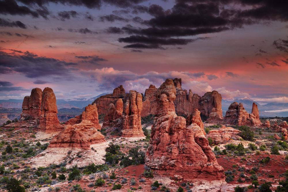 moab, utah photography workshop Garden of Eden Arches National Park