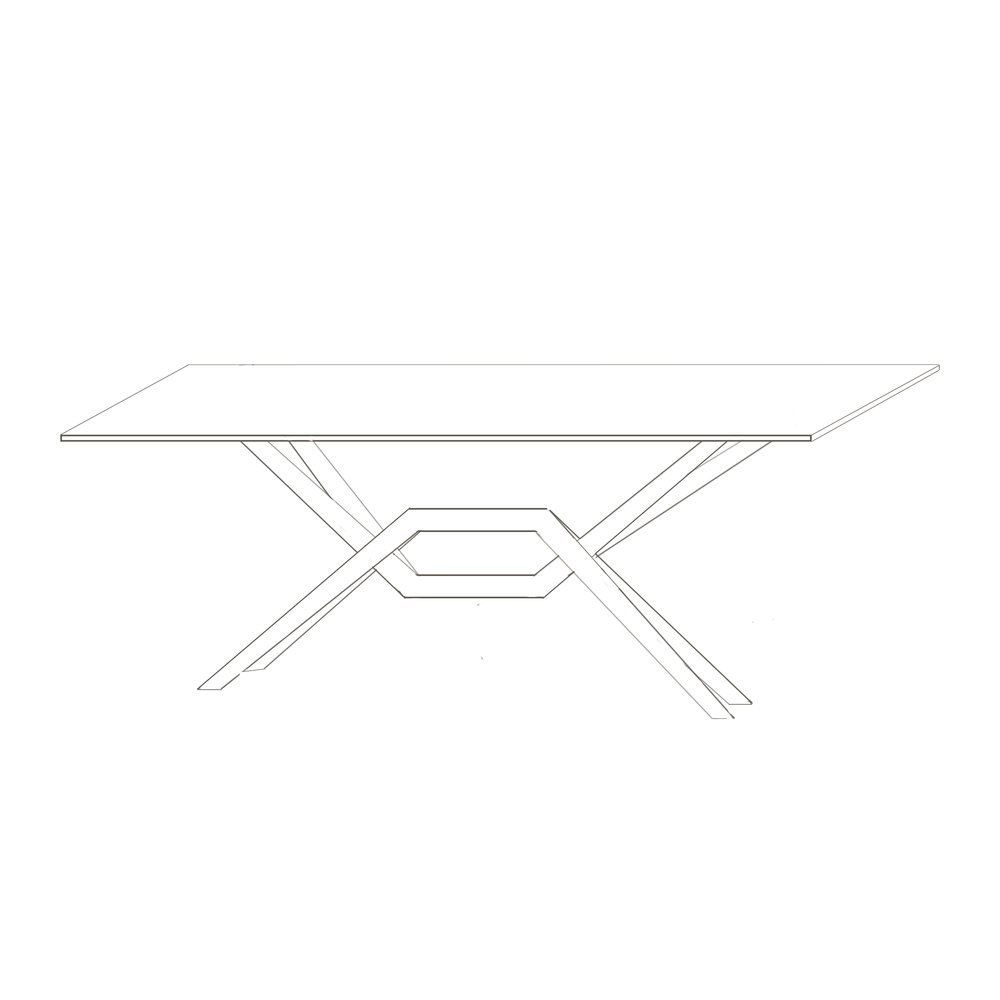 "Axis Double Leaf  Table    42"" W x 72"" L , 96"" L , and 112"" L x 30"" H  Starts at $5,830.00"