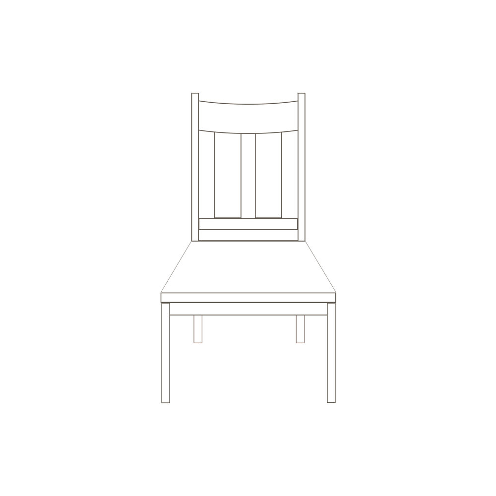 Piper Side Chair 20 W x 17 D x 42 1/4 H Starts at $400.00