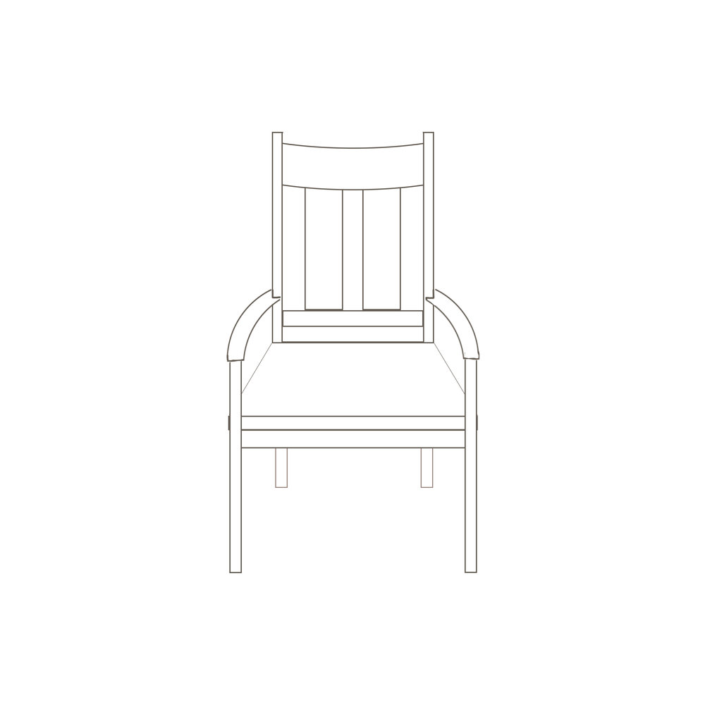 Piper Arm Chair 22 1/2  W x 17 D x 42 1/4 H Starts at $475.00