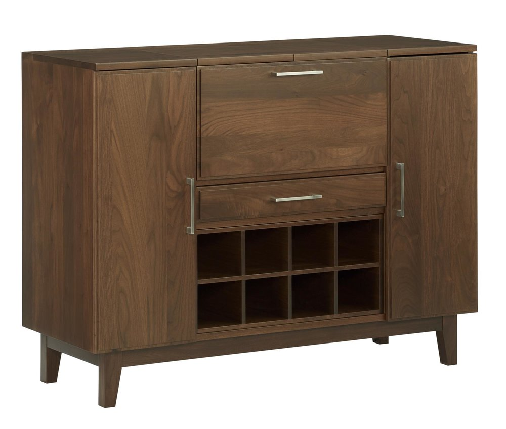 "Burbank Serving Credenza 48"" W x 18"" D x 36"" H Starts at $4,225.00"