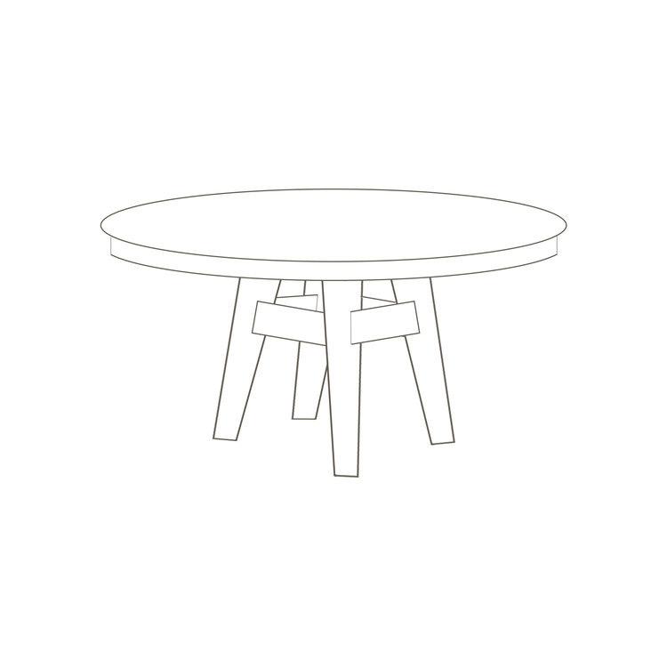 "Halyard Round Table 48"" D x 30"" H Starts at $2,675.00"