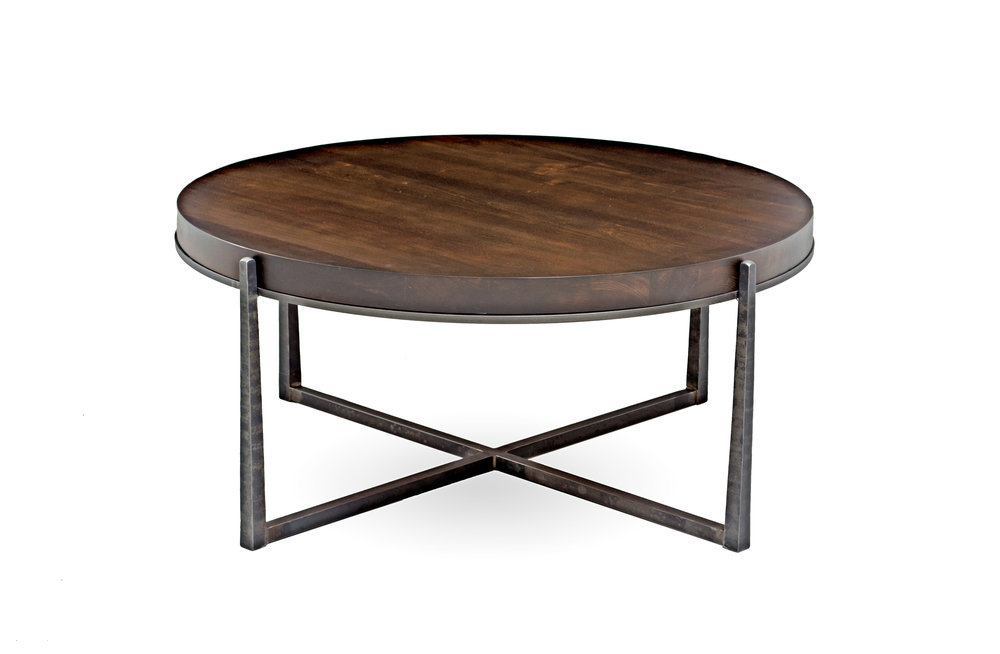 custom_american_quality_furniture_northern virginia_hardwood_cocktail_coffee_table_metal