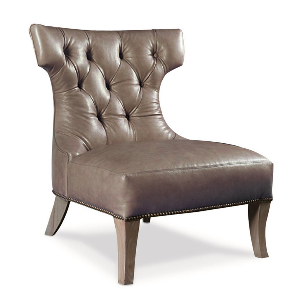 Named for the home where I first placed this graceful chair, the Fairmont is a light accent piece with high drama.