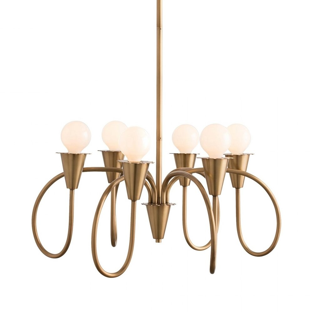 Another piece that evokes Fischer's Cafe for me, I included the Godfrey chandelier to inspire dramatic design.