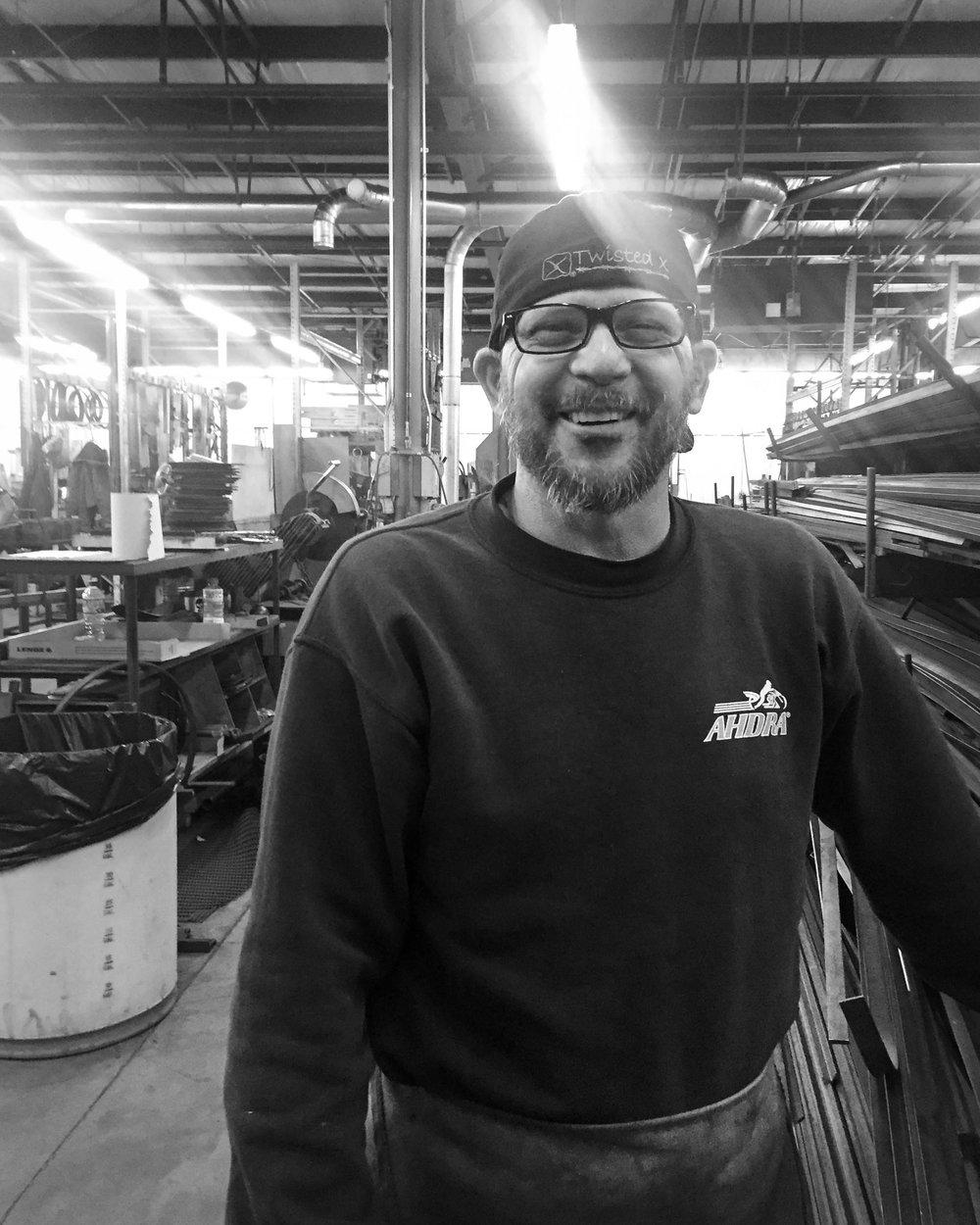 Metalworking artist, steel forger, custom furniture maker.