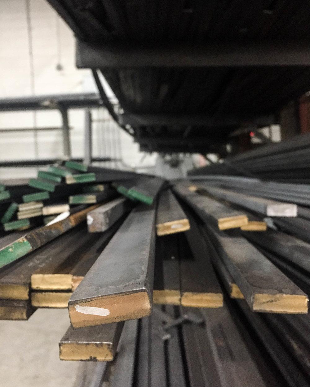 Steel furniture raw materials, American furniture factory in North Carolina