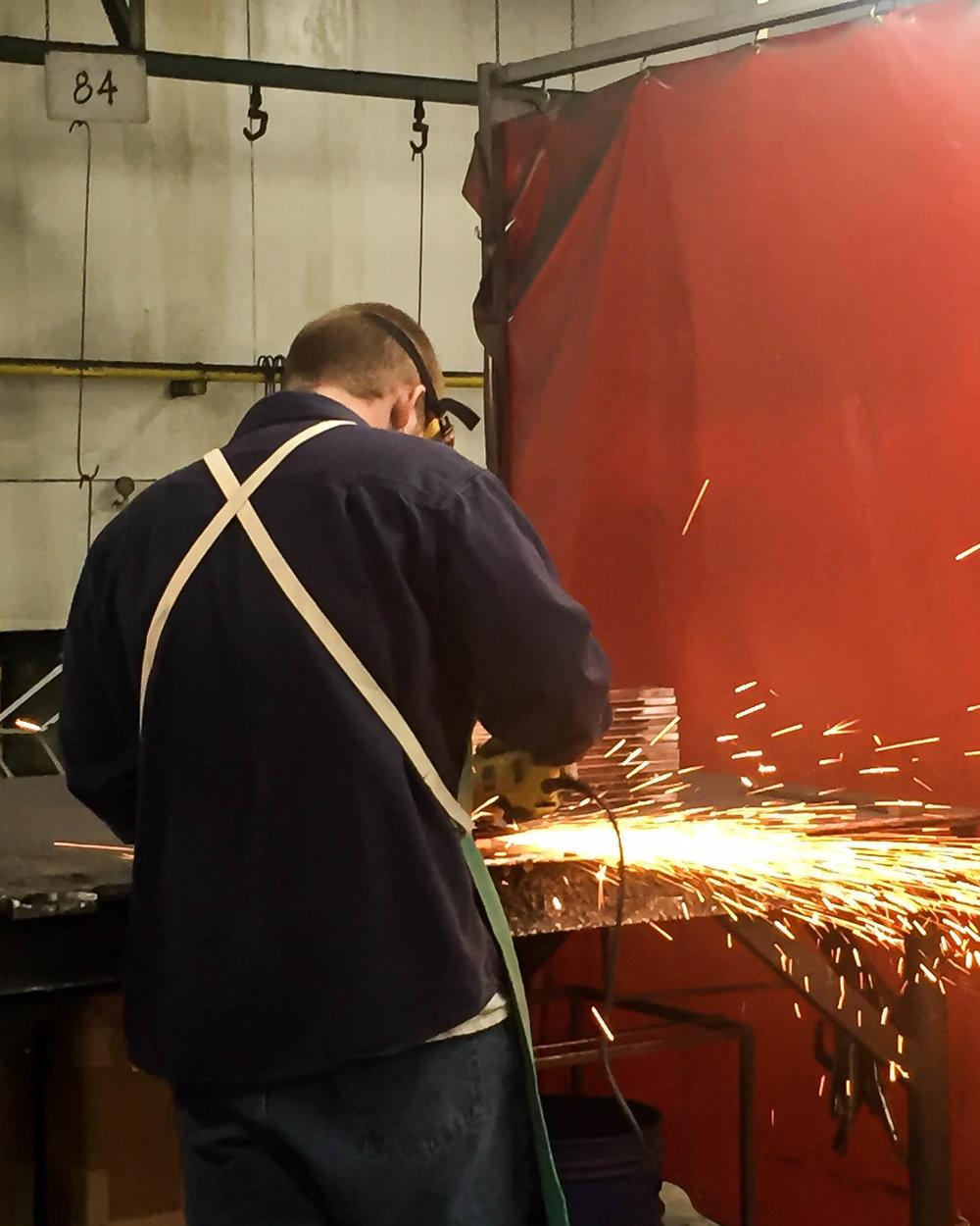 Artisan welder, custom furniture made by hand.