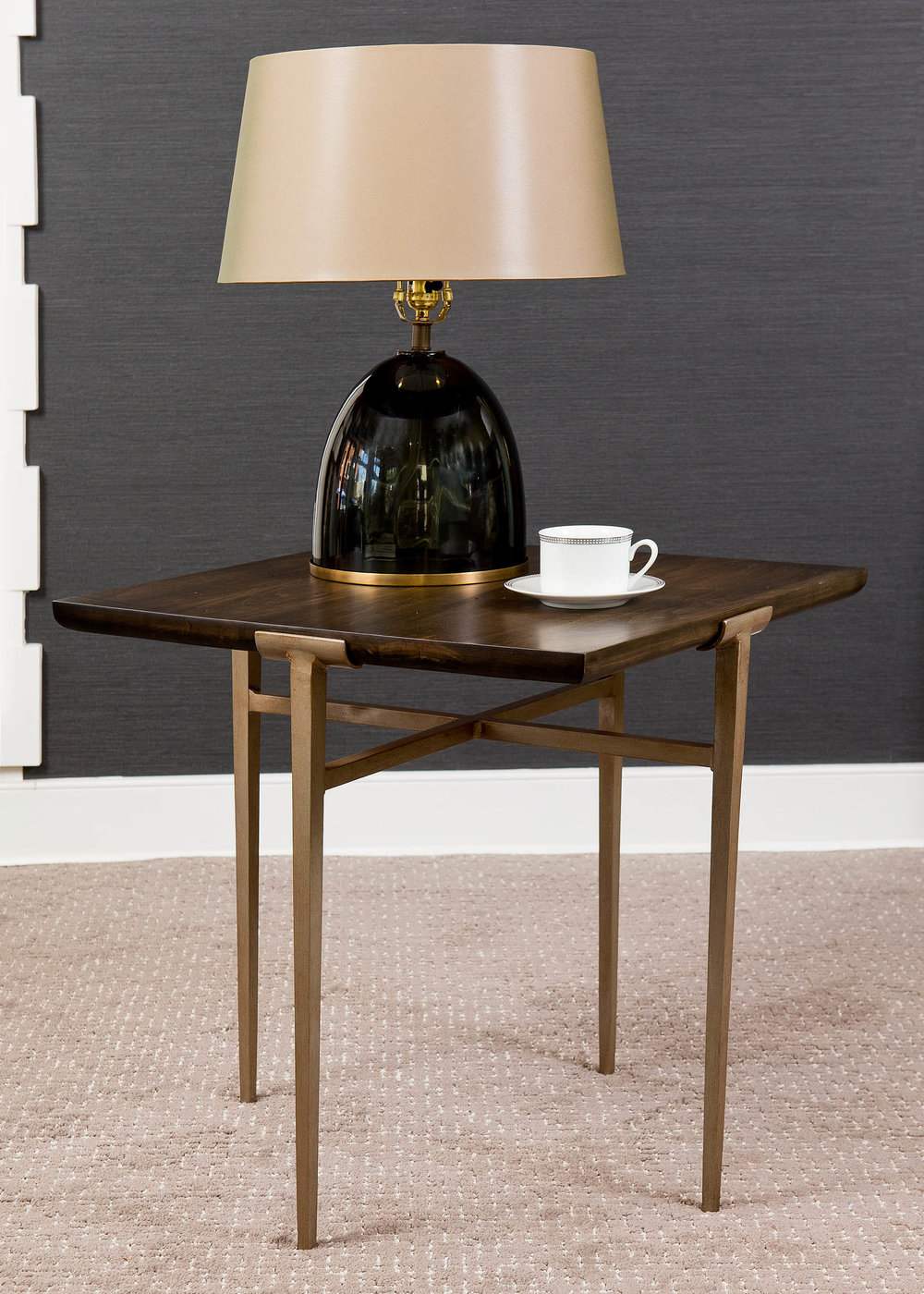 """It is not enough for a side table to be only functional. The silhouette and materials should add a spark of interest to your home. "" - Paul Miller, Lookbook 2019"