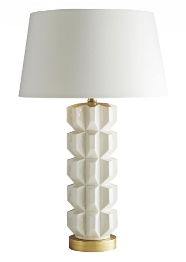An elegant and edgy lamp from MakeNest Interiors Lookbook 2019