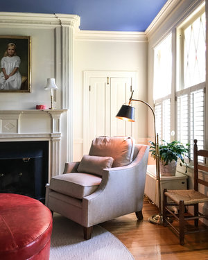 library-blue-ceiling-bold-room-crown-molding-interior-design-home-virginia.jpeg