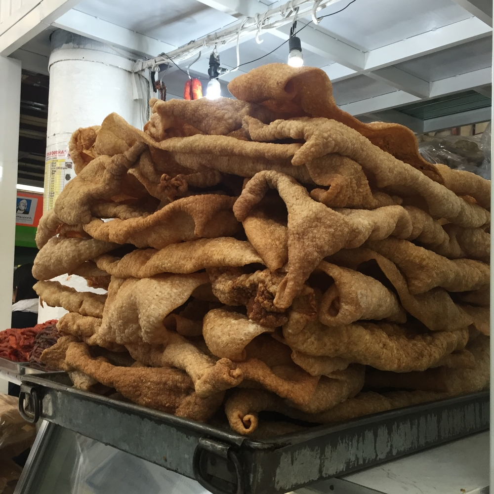 The biggest chicharrón I've ever seen