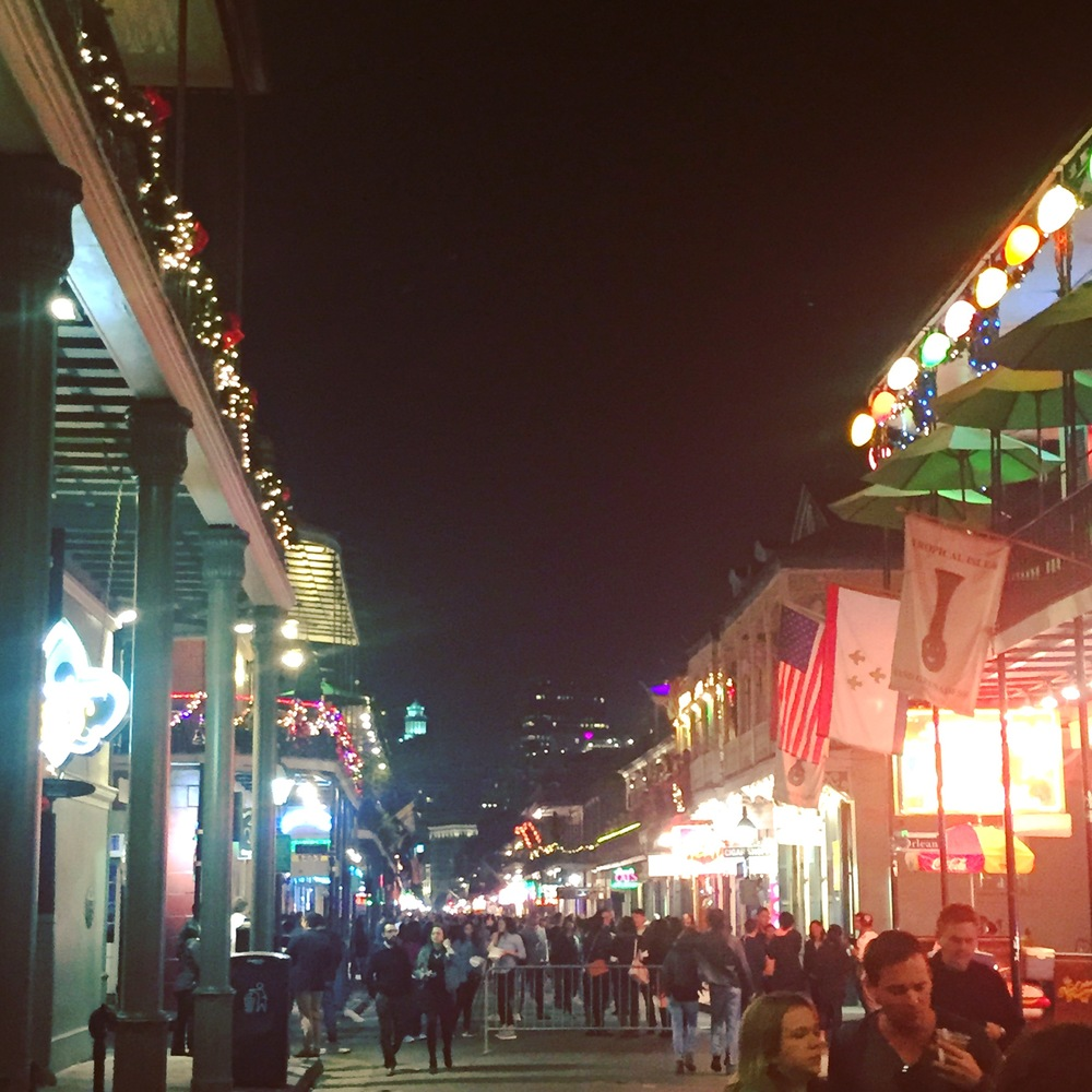 A Festive Bourbon Street