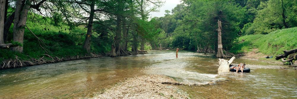 Awakening, Guadalupe River, Texas, 2004