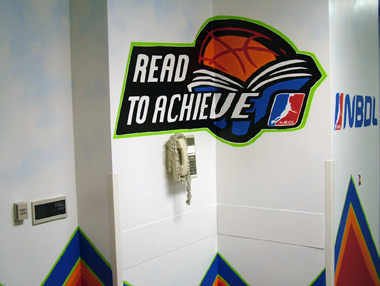 Children's Hospital NBA Mural